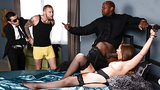 Dani Daniels & Prince Yashua in Handcuffed Housewife - Brazzers
